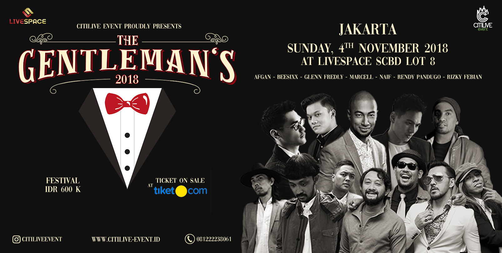 The Gentleman's Indonesia Tour 2018