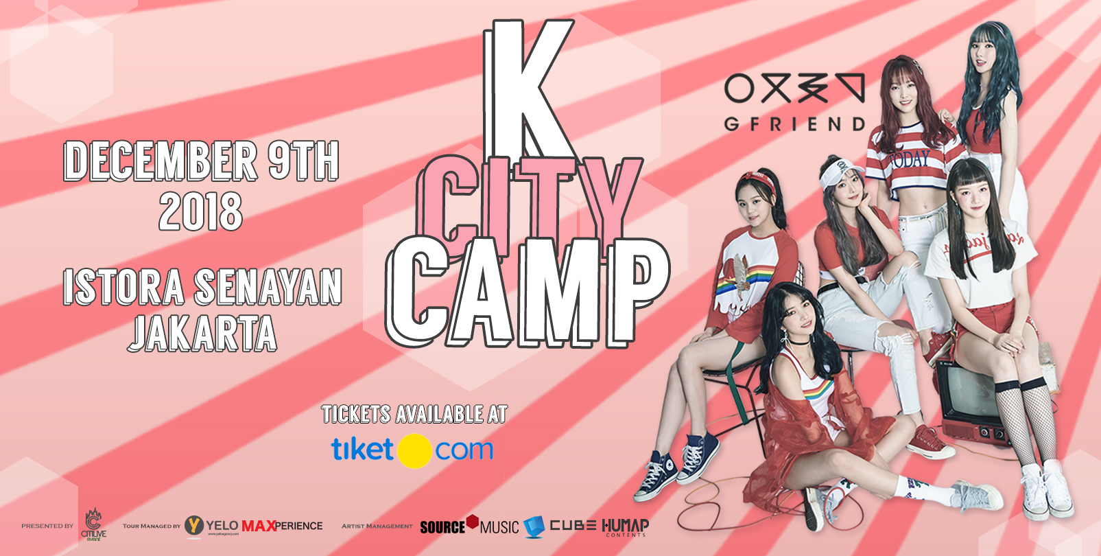 K City - Gfriend Camps & CLC 2018