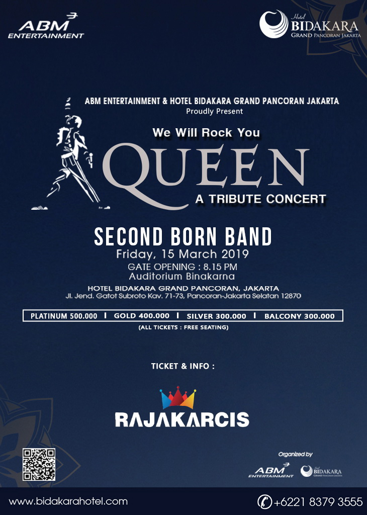 Tribute To Queen Performed By Second Born