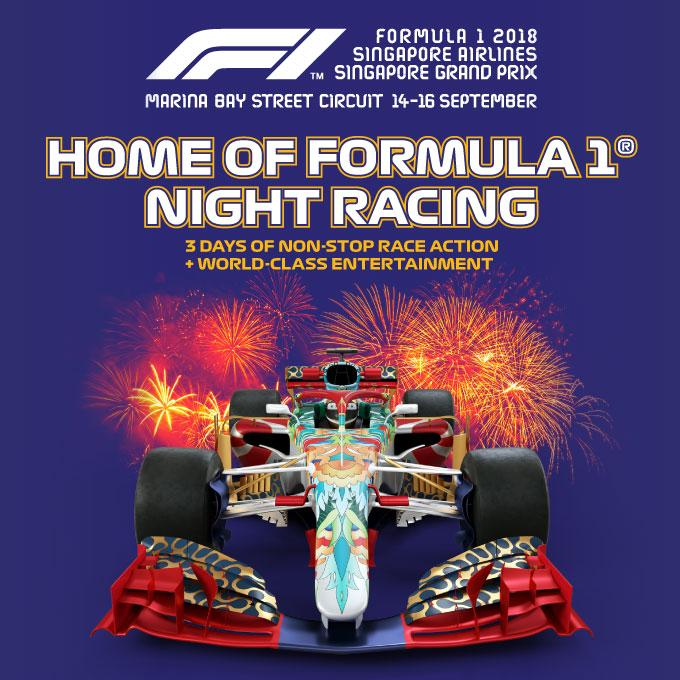 F1 Night Race Singapore Package