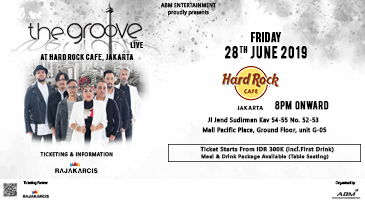 The Groove Live at Hard Rock Cafe Jakarta