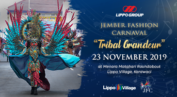 "Jember Fashion Carnaval "" Tribal Grandeur """