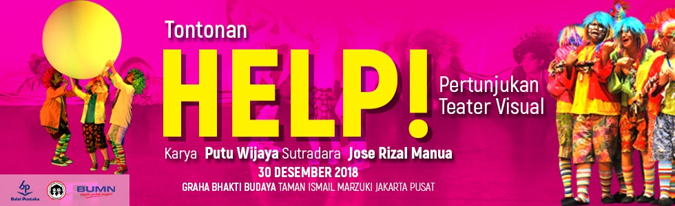 "Pertunjukan Teater Visual "" Help """