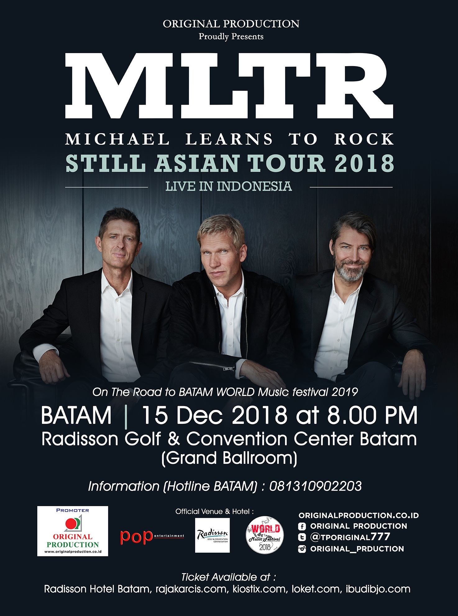 MLTR STILL ASIAN TOUR 2018 (BATAM)